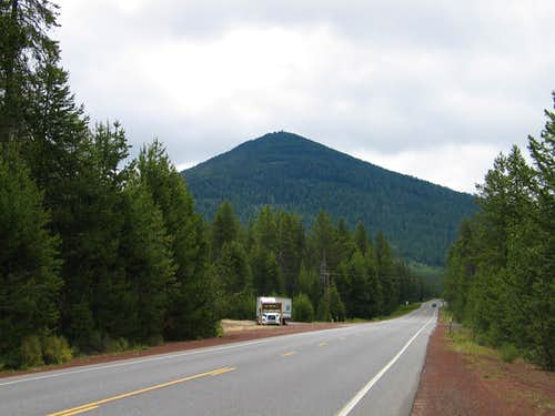 Odell Butte from highway 58