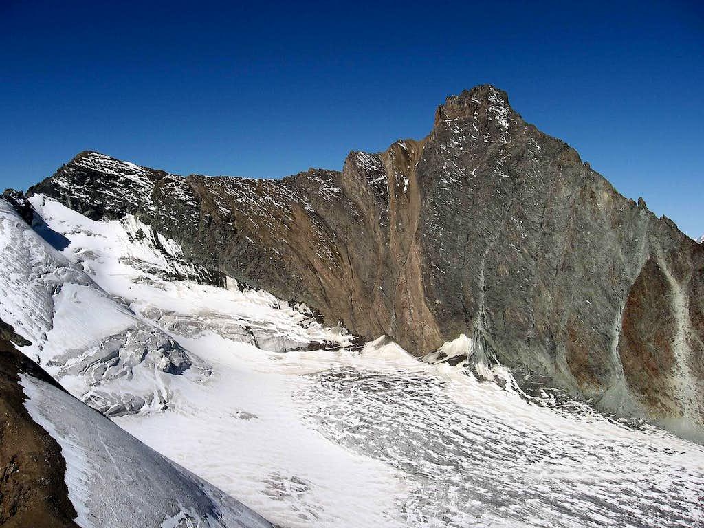 Grivola seen from Punta Rossa