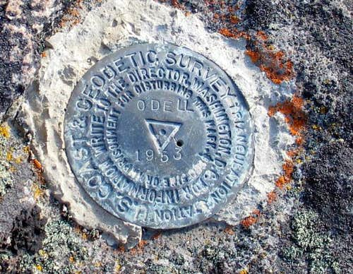 Odell Butte benchmark (OR)