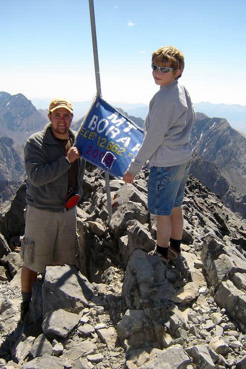 Summit of Mt. Borah.  August 2006