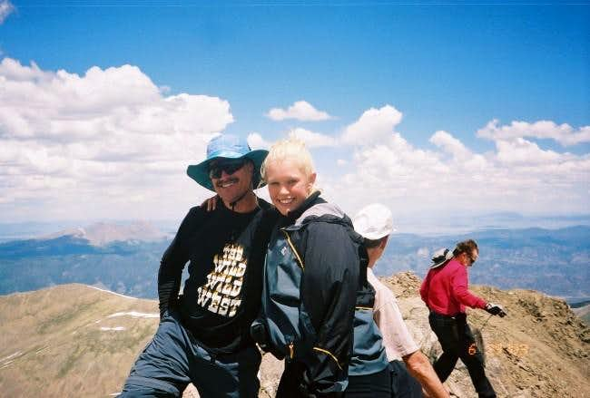 My first 14er completed with...