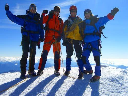 Happiness on summit