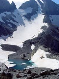 The Lago Helado (ice lake)...