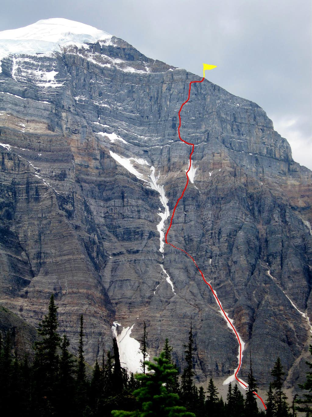 Greenwood/Locke,  North Face of Mount Temple