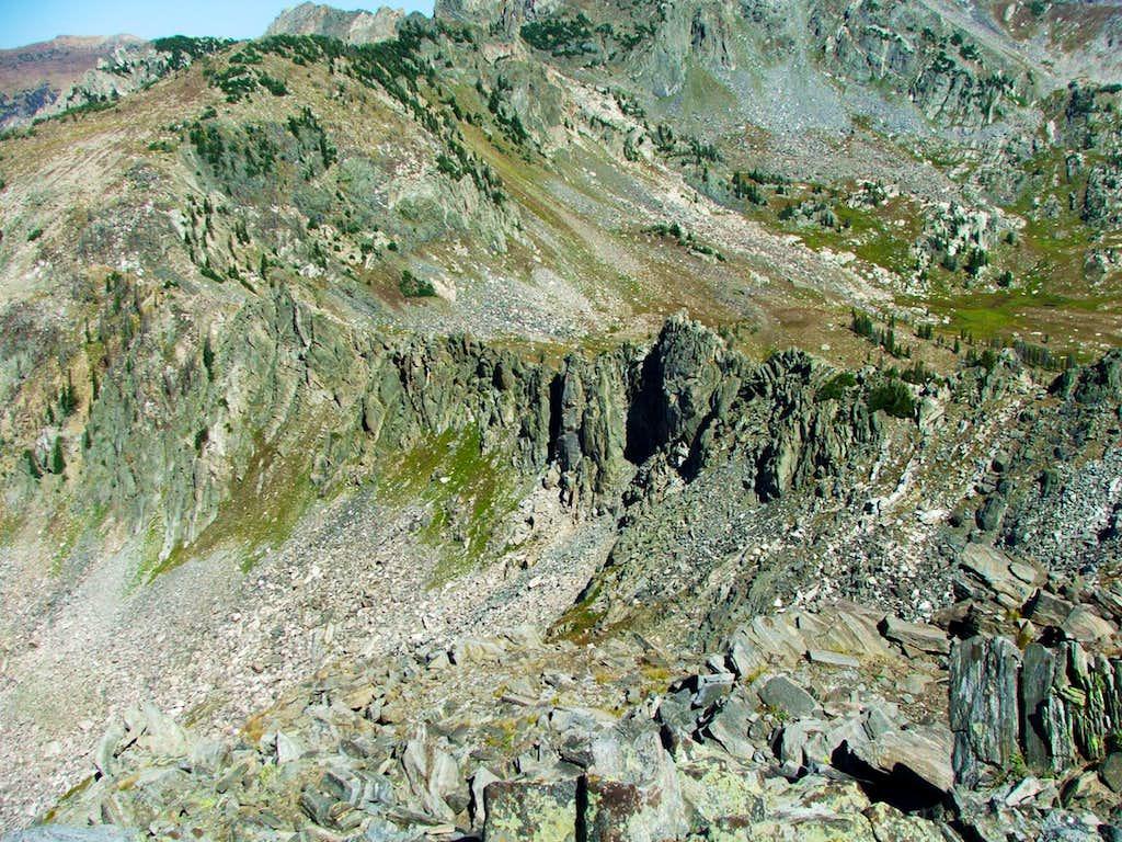 Northeast Ridge of Little Agnes
