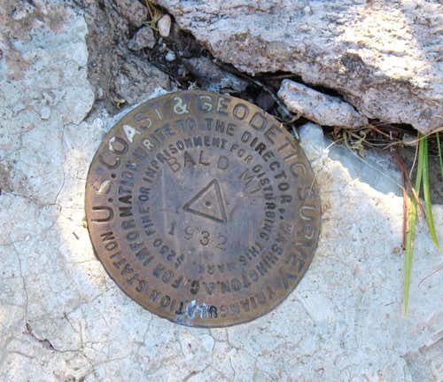 Bald Mtn Benchmark (OR)