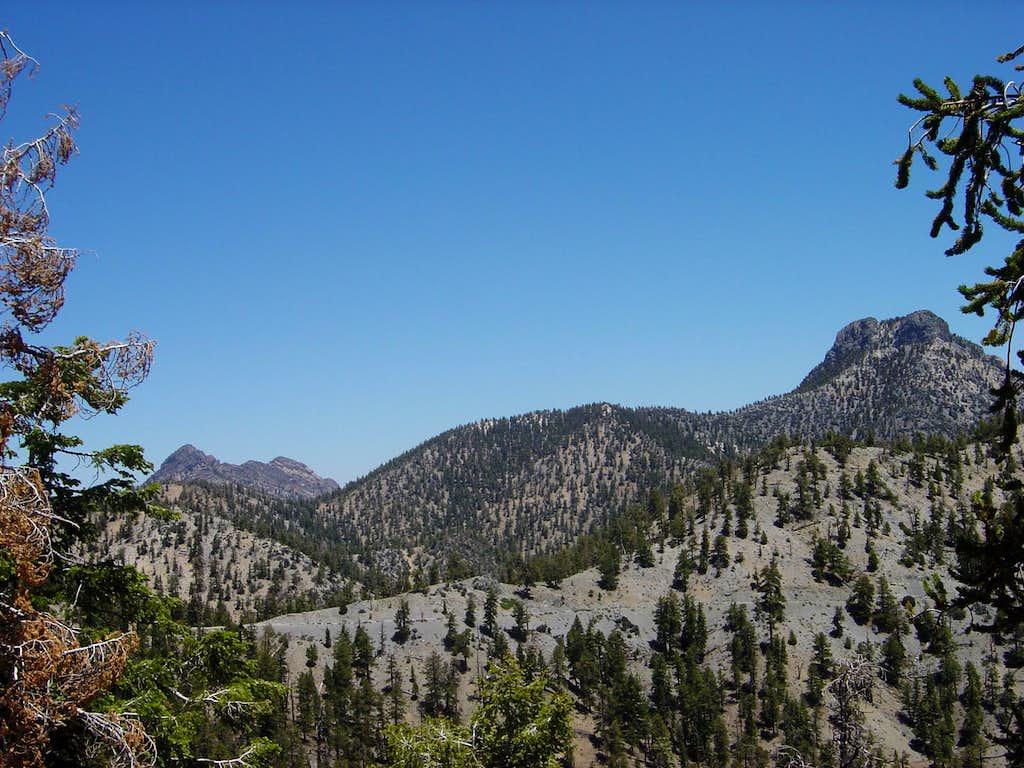 Macks Peak and the Sisters