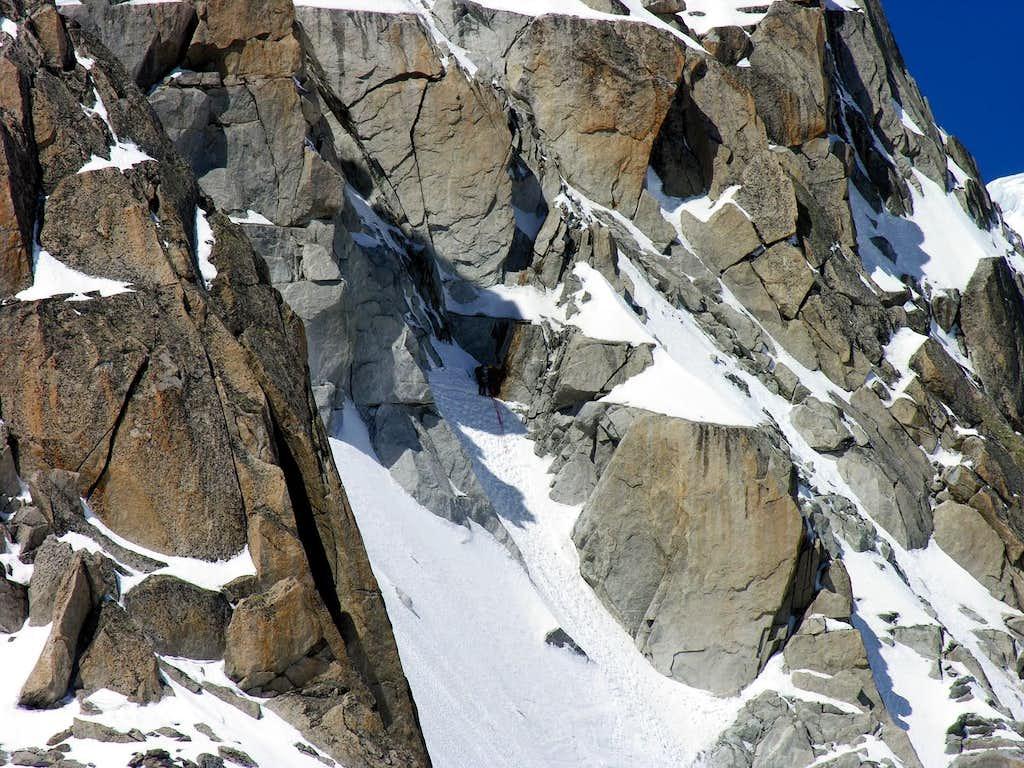 la Tour Ronde (3792 m.), parete nord