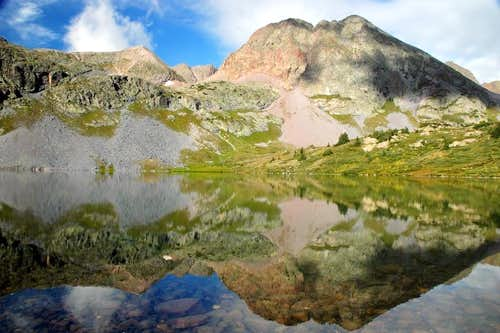Peters Peak Reflection