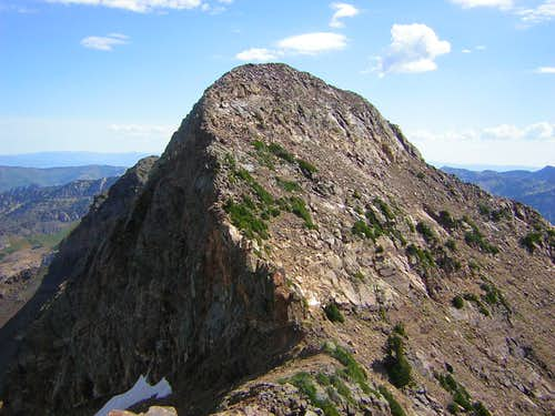 Sunrise Peak from unnamed peak