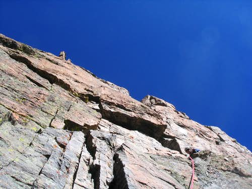 South Face pitch 6