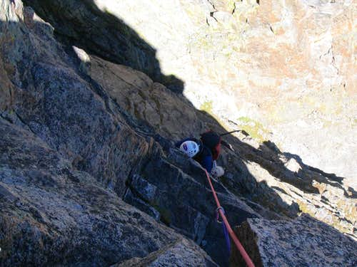 Pitch 7, south face