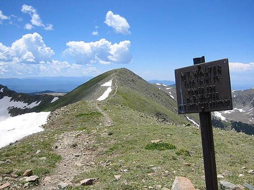 Mt. Walter with Wheeler Peak...