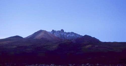 Tunupa from Salar de Uyuni