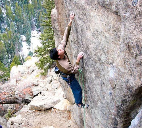 Sport Climbing in Boulder