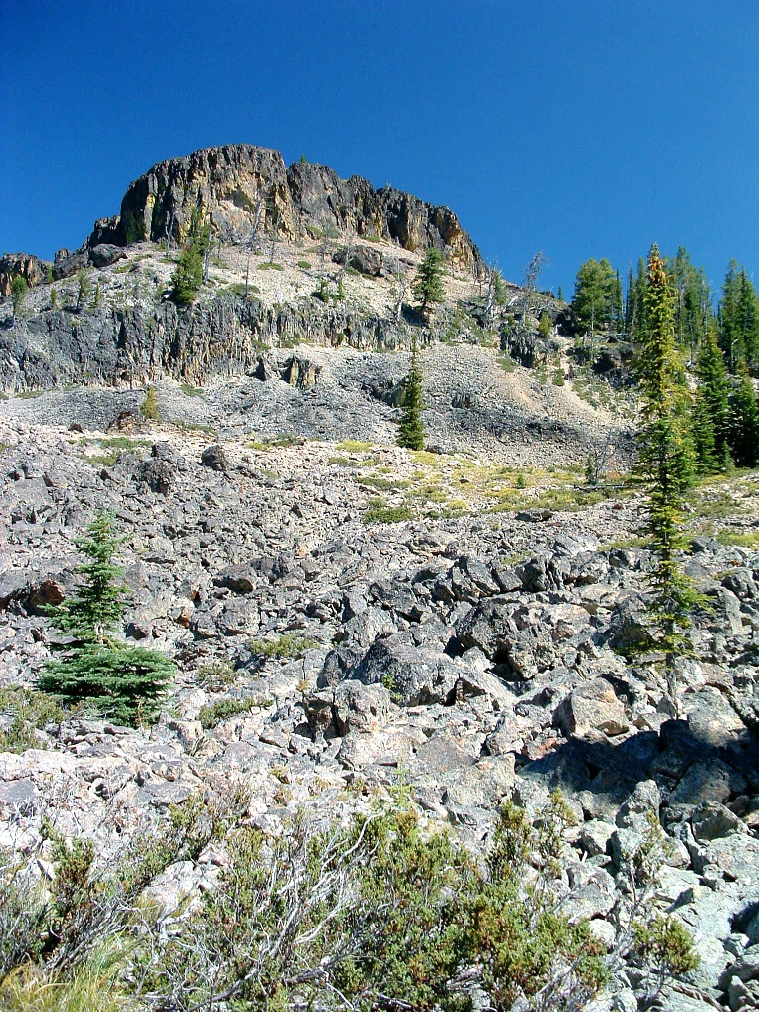 Nez Perce Pass Trailhead