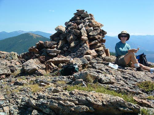 Castle Rock Summit Cairn
