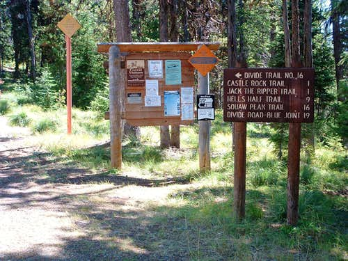 Castle Rock Trailhead
