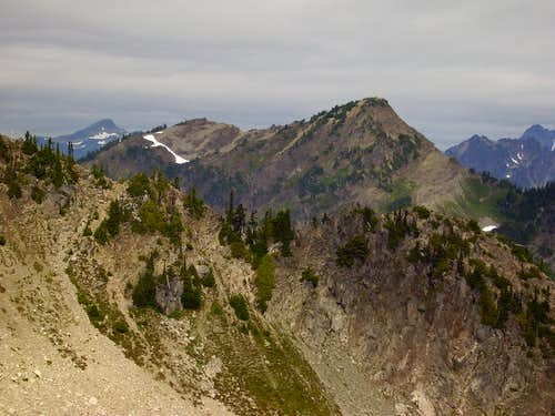 Mt Hopper from Stonesthrow Peak