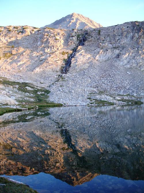 Baptie Lake Reflection