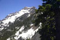 Kyes peak false summit, and...
