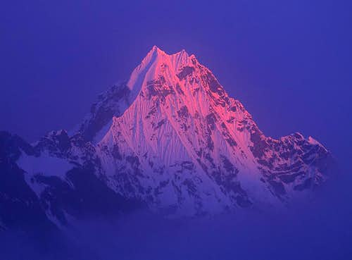 Northeast Face of the highest peak 6250m