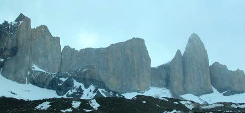 Torres del Paine > Cerro Catedral range