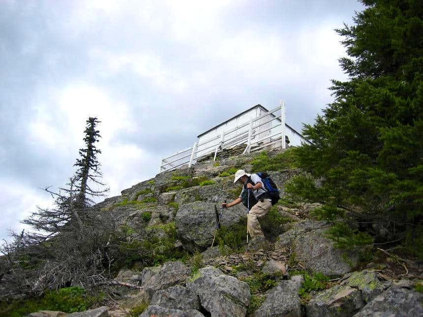 Carpenter Mtn lookout