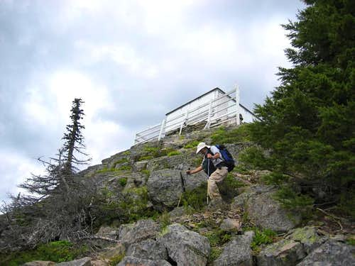 Carpenter Mtn lookout