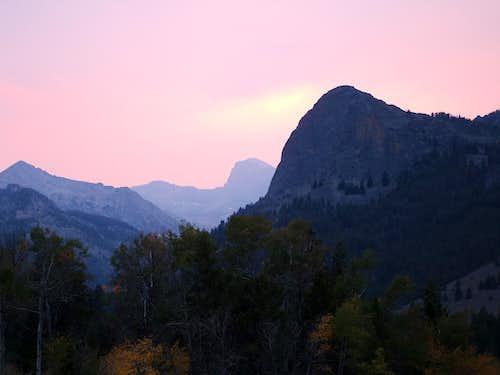 Pioneer sunset