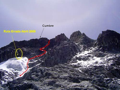 North Face (Vinci Route)