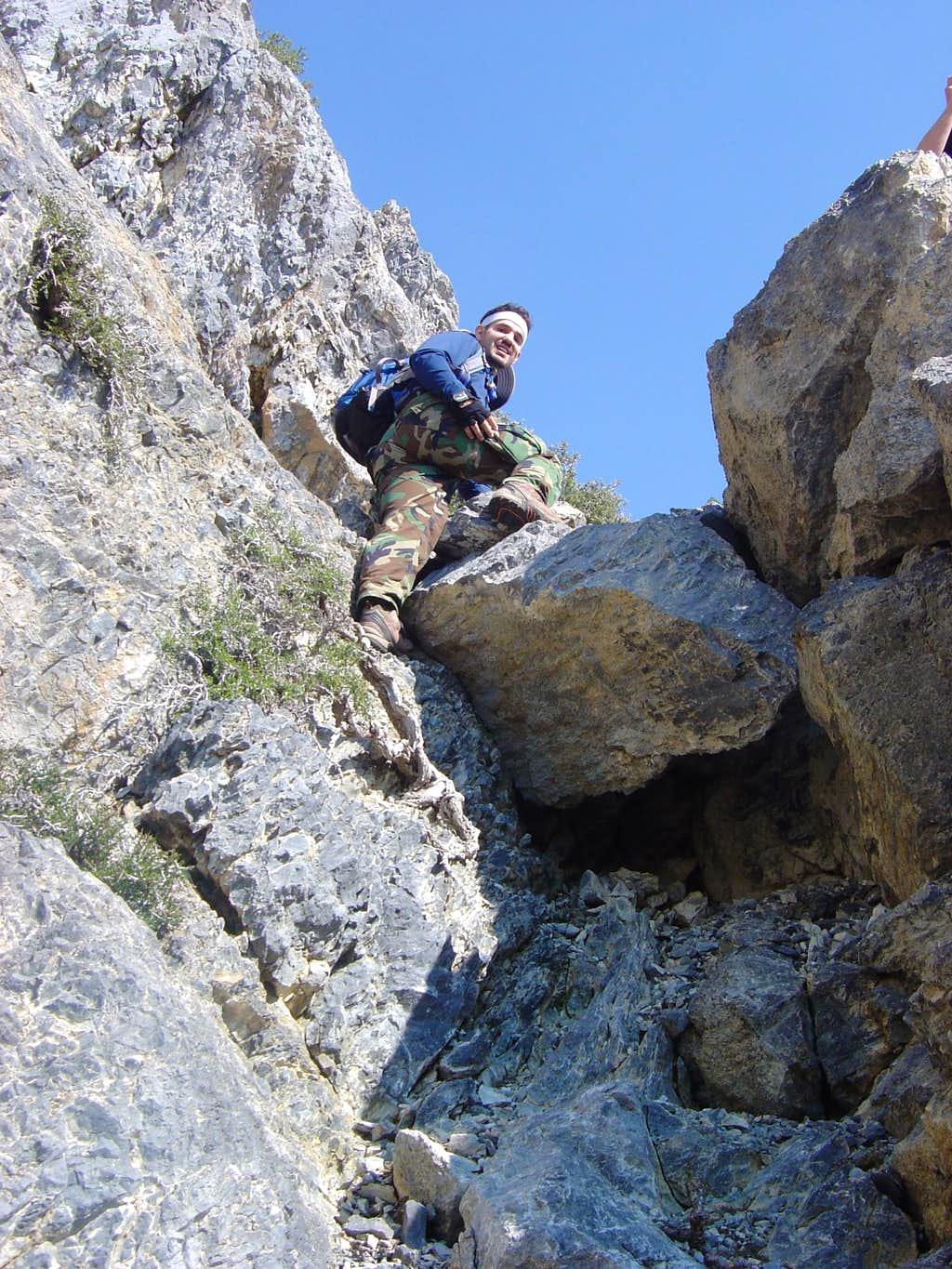 Me almost to the top