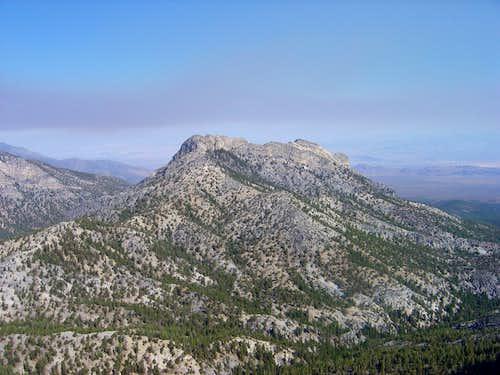 Makcs Peak from South Sister