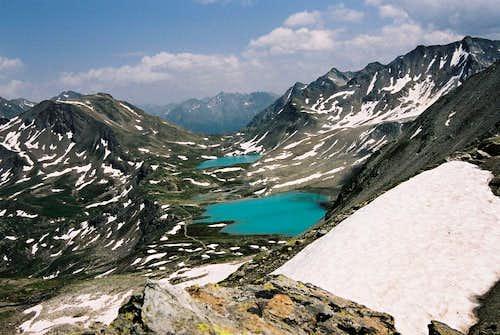 Jöri-Flüela lakes
