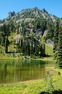 Chinook Peak and Sheep Lake