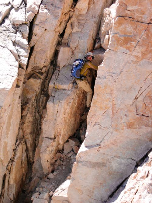 Descending South Face