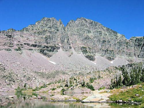 Gray Wolf Peak&#151East Face