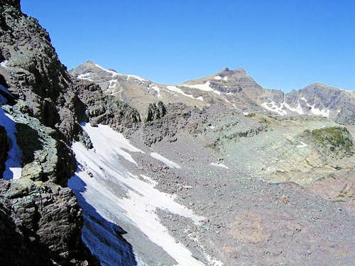 North Face, Gray Wolf Glacier
