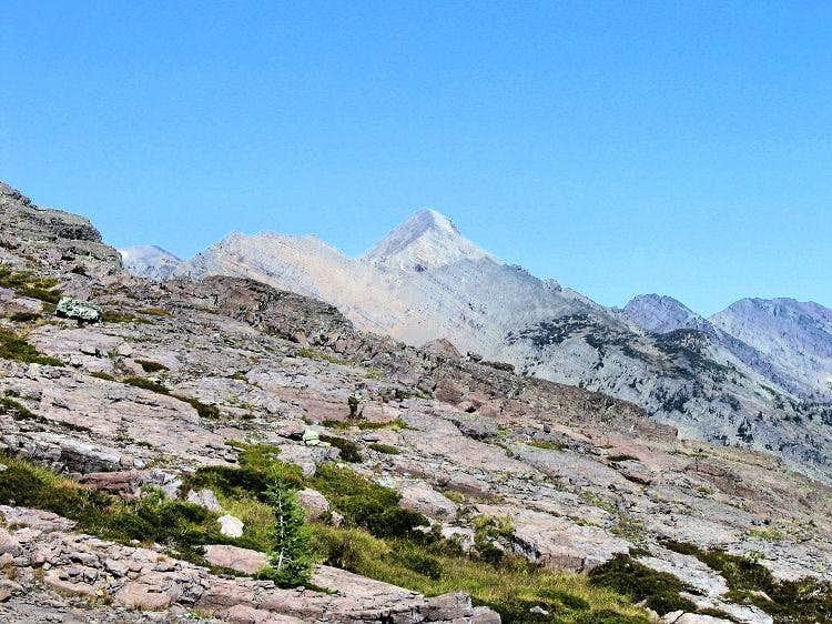 Mountaineer Peak, from Gray Wolf
