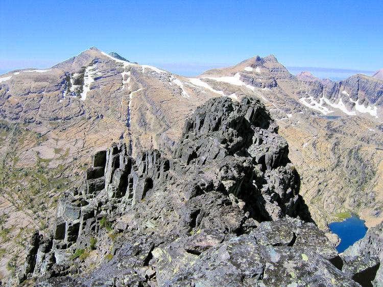 East St Marys Peak, Peak Y, Lowary Peak - from Gray Wolf summit