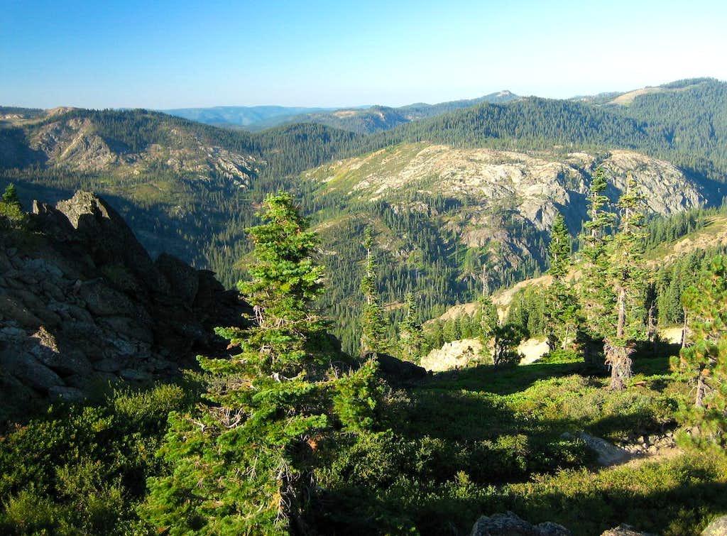 SW View from Eureka Peak