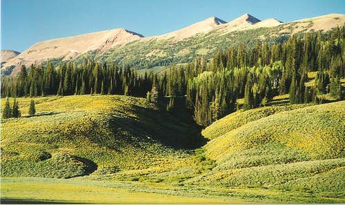 Mount Coffin, Wyoming Peak, and
