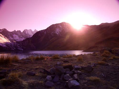 Austria Peak, Condoriri Region, Cordillera Real,  Bolivia