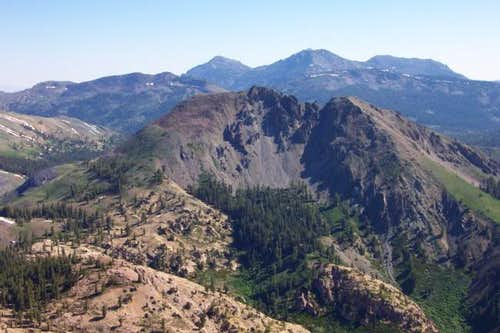 Hiram Peak viewed from the...