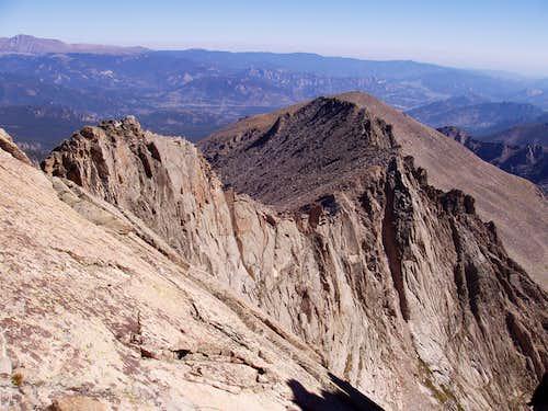 The C3-4 NE Ridge from Thatchtop