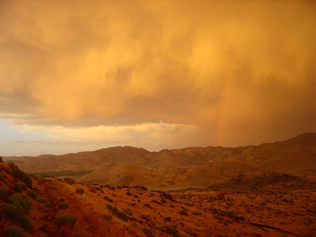 Rainbow from Rattlesnake