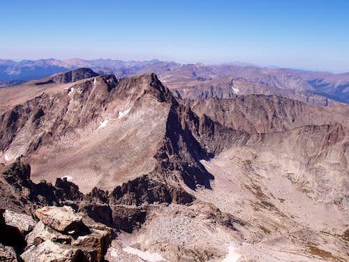 The Glacier Gorge Traverse(64% of it)