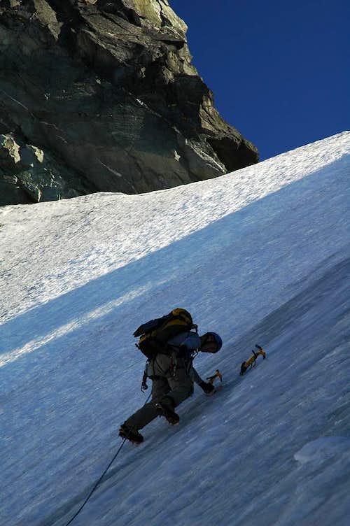 Torment-Forbidden traverse - the snowfield traverse