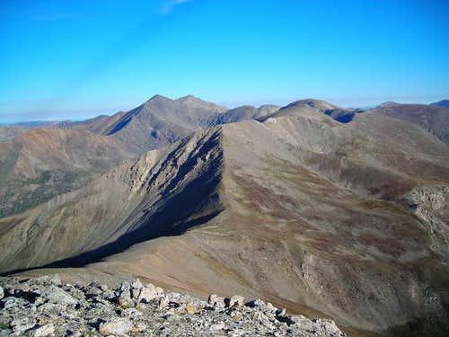 Grays and Torreys from Square Top