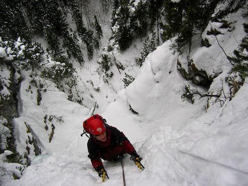 Winter Climbing in Bavaria